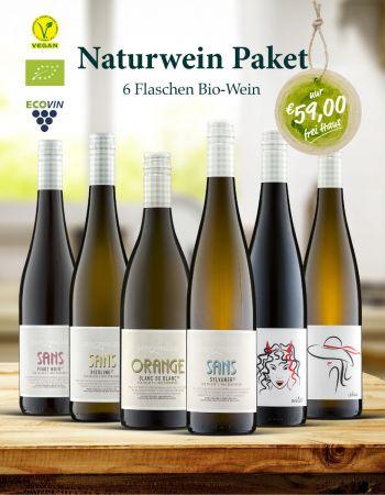 Naturweinpaket 6 Flaschen